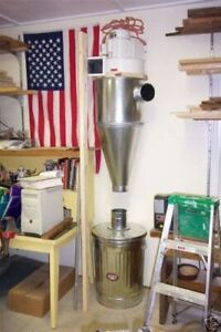 Cyclone Dust Collector 6 Inch Inlet On The Right
