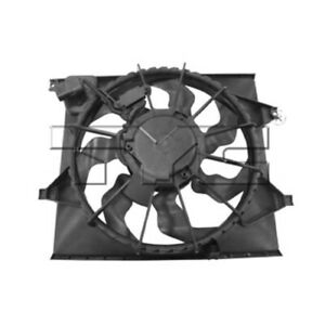 Dual Radiator And Condenser Fan Assembly Fits 10 11 Kia Soul 622240 Tyc