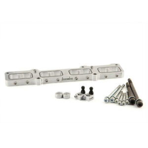 Boomba Racing Intake Manifold Spacer Silver For Ford Fusion 1 6