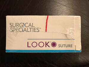 Look Surgical 928b Suture 3 0 Nylon Black Monofilament 18 C6 Reverse