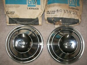 Nos Gm Camaro Copo Poverty Hub Caps Rs Ss New N Package price For Pair 3916434