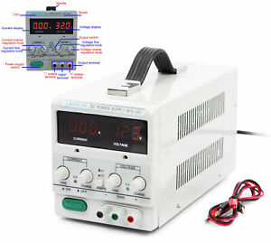 Lavolta Bps305 Variable Linear Adjustable Lab Dc Bench Power Supply 30v 5a New