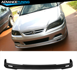 Fits 01 02 Honda Accord 2dr Coupe Mugen Style Front Bumper Lip Pp