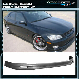 Fits 01 05 Lexus Is300 Sedan Mugen Style Front Bumper Lip Pp