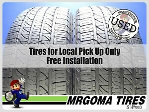 2 Goodyear Fortera H L M S 265 50 20 Used Tires 83 Life 2655020