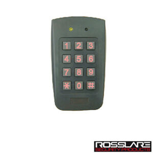 New Ay f64 Proximity Reader With Keypad Outdoor Wiegand Output Rosslare