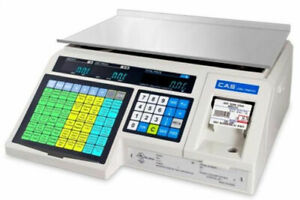 Pcamerica Scale Cas Lp1000n Label Printing Scale 30x0 01 Lb ntep legal For Trade