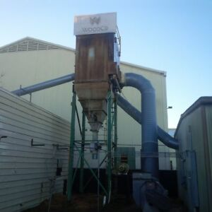 Dustex Bag House Dust Collector Model 3439 7 12 17000 Cfm 1200 Sq Ft Of Cloth