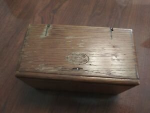 1889 Antique Singer Sewing Machine Wood Puzzle Box With 20 Attachments