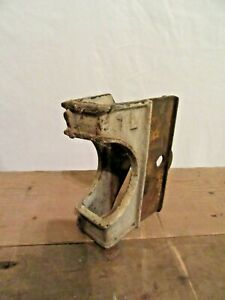 Antique Vintage Industrial Factory Cart Cast Iron Corner Bracket Charles Francis