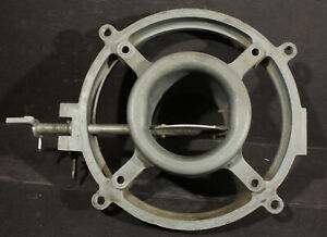 1963 1964 1965 Corvette Fuel Injection Air Meter Diffuser Cone Ring Nos