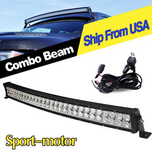 32inch 180w Led Light Bar Spot Flood Combo For Ford Offroad Truck Suv Atv 30 in