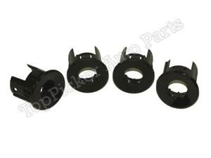 Rear Bumper Sensor Retainer Housing Inner Outer 4pcs For Silverado 2008 2013