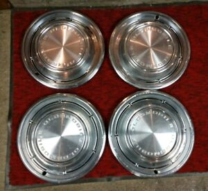 1968 Oldsmobile Hub Caps 14 Wheel Covers 68 Olds Set Of 4 Hubcaps Olds F85