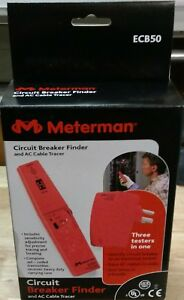Meterman Ecb50 Circuit Breaker Finder Ac Cable Tracer