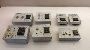Lot Of 7 Power One Power Supplies T22372