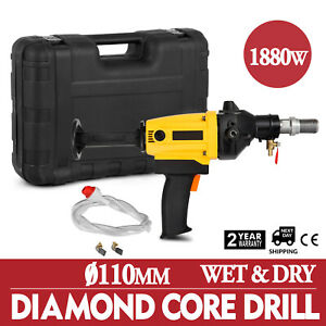 110mm Diamond Core Drill Machine Core Bit 110v Wet Drill Machine Handheld