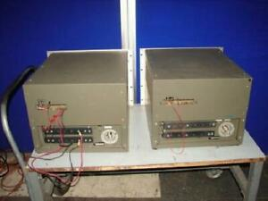 Lot Of 2 Hp Agilent 6459a Dc Power Supplies For Repair 0 64v 0 50a T2945