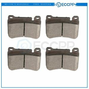 Front Ceramic Brake Pads For 2005 2006 2007 Mercedes Benz C230 Performance