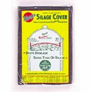 Silage Cover Round 24 Livestock Cattle 3 Mil Silo Cover Heavy Duty Frementation