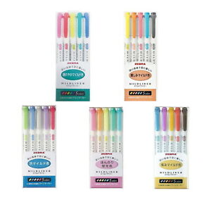 Zebra Mildliner Double sided Highlighter 25 Color Set