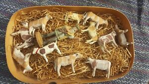 Very Early German Farm Set W Original Box