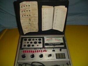 Sencore 28 the Hybrider Tube Transistor Checker great For Sweep Tubes amps
