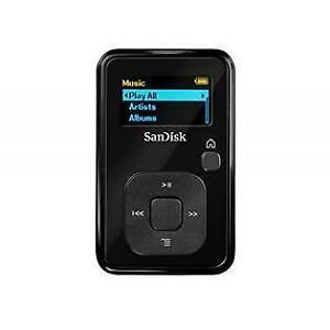 SanDisk Sansa Clip+ ( 8 GB up to 2000 Songs ) MP3 Digital Media Player - Black