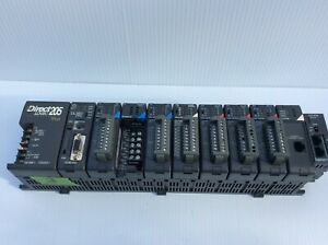 Automation Direct Direct Logic 205 Keyo With 9 Modules Included