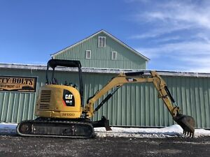 2013 Caterpillar 303 5 Ecr Mini Excavator Clean 1263hrs Low Cost Shipping Rates