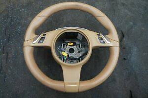 Multifunction Driver Steering Wheel 970347803089j9 Porsche Panamera 10 16 note