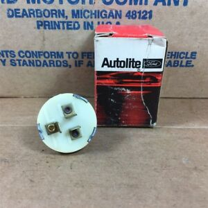62 Fairlane Meteor Nos Ford C2oz 17a555 a Single Speed Windshield Wiper Switch