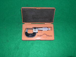 Mitutoyo 0 1 193 211 Digital Micrometer Carbide 001 And Lock