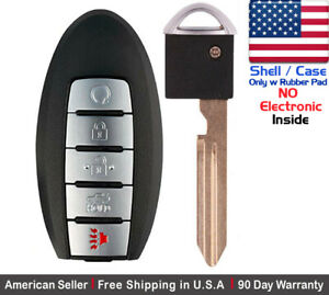1x New Replacement Keyless Entry Remote Control Key Fob For Nissan Shell Case