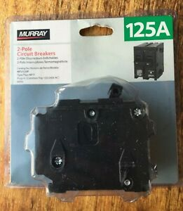 Murray 125 Amp Double pole Type Mp t Circuit Breaker Free Shipping