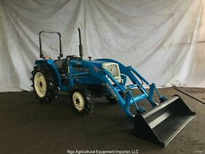Mitsubishi Mt3201d Diesel Compact Tractor With Front End Loader