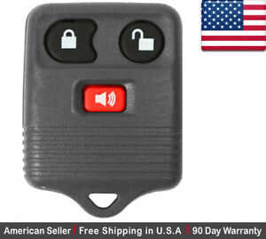 1x New Replacement Keyless Entry Remote Control Key Fob For Ford 2l3t 15k601 Ab