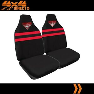Essendon Bombers Official Afl Licensed Seat Covers Airbag Compatible