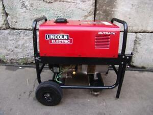 Lincoln Outback 145 Kohler Engine Welder Generator Works Great