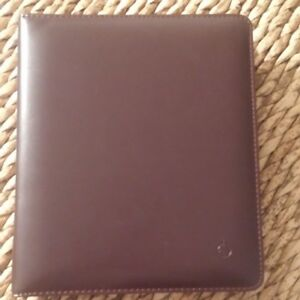 New Franklin Covey 7 Ring 1 25 Burgundy Binder Planner W pages And Free Gift