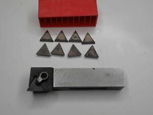 Used Viking Lathe Indexable Tool Holder W tpg 432 Inserts
