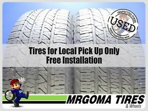 2 Goodyear Fortera Hl M S 265 50 20 Used Tires Audi Ford Jeep Dodge 107t 2655020