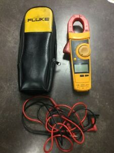 Fluke 902 Hvac Clamp Meter W Leads And Case lam017163