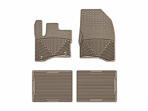 Weathertech All Weather Floor Mats For Ford Taurus 2010 1st 2nd Row Tan