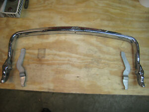 1940 Flathead Ford Grill Guard And Braces