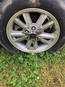 2005 2009 Ford Mustang Set Silver Wheels Rims Oem