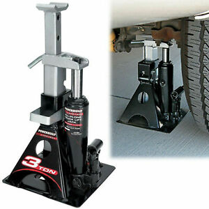 3 Ton Bottle Jack Stand Car Lift 3 Ton Vehicle Auto Tool All in one Garage Shop