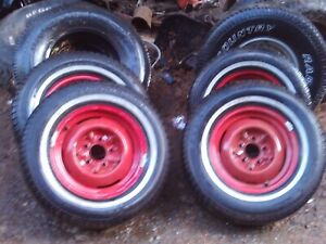 1952 1990 Chevy Impala Old School Hot Rod Rat Rod 5 Lug Rims And New Tires