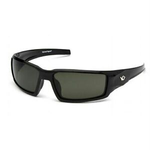 Venture Gear Safety Glasses Pagosa Forest Gray Polarized Lens With Black Fram