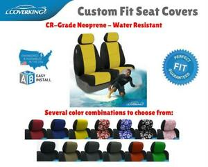 Cr Grade Neoprene Custom Fit Seat Covers Coverking For Pontiac Fiero